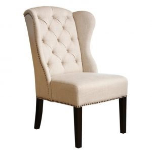 wing dining chair l
