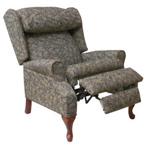 wingback chair recliner gianna wing back recliner chairs mdrgiaqg