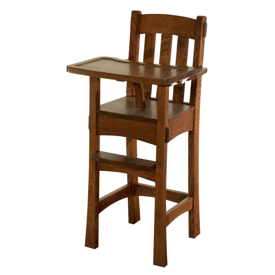 wood high chair for babies wooden baby chair