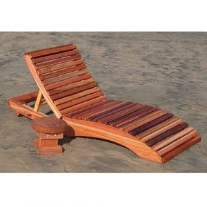wood lounge chair rh