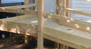 wood wheel chair ramp wood ramp