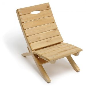 wooden beach chair jim ryan