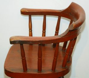 wooden captains chair dsc