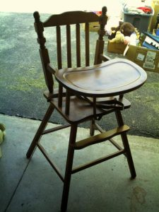 wooden high chair for sale antique high chair