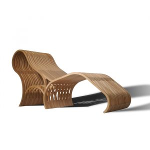wooden lounge chair modern wood furniture dif lounge chair
