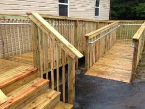 wooden wheel chair ramps wood ramp large