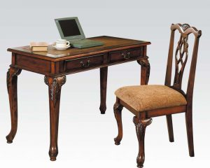 writing desk chair acme furniture writing desk w chair ac