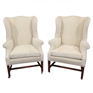 yellow wingback chair wingback dining chair color white